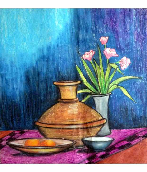 How To Frame Oil Pastel Painting