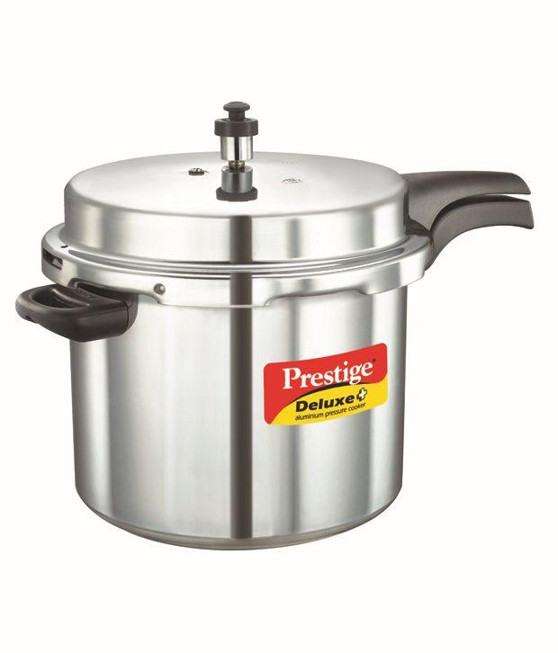 Prestige-Deluxe-Plus-Aluminium-10-L-Pressure-Cookers-(Outer-Lid)