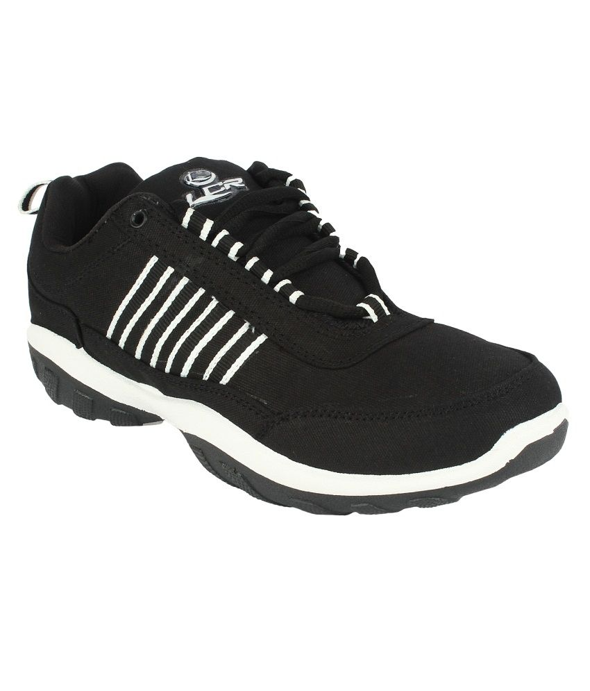 Lancer Black Casual Shoes