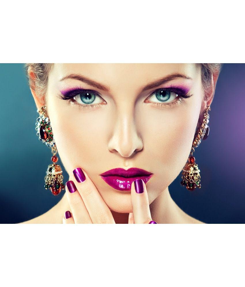 Poster4me Matte Beauty Salon Spa Makeup Nails Manicure Photo Print Art Poster