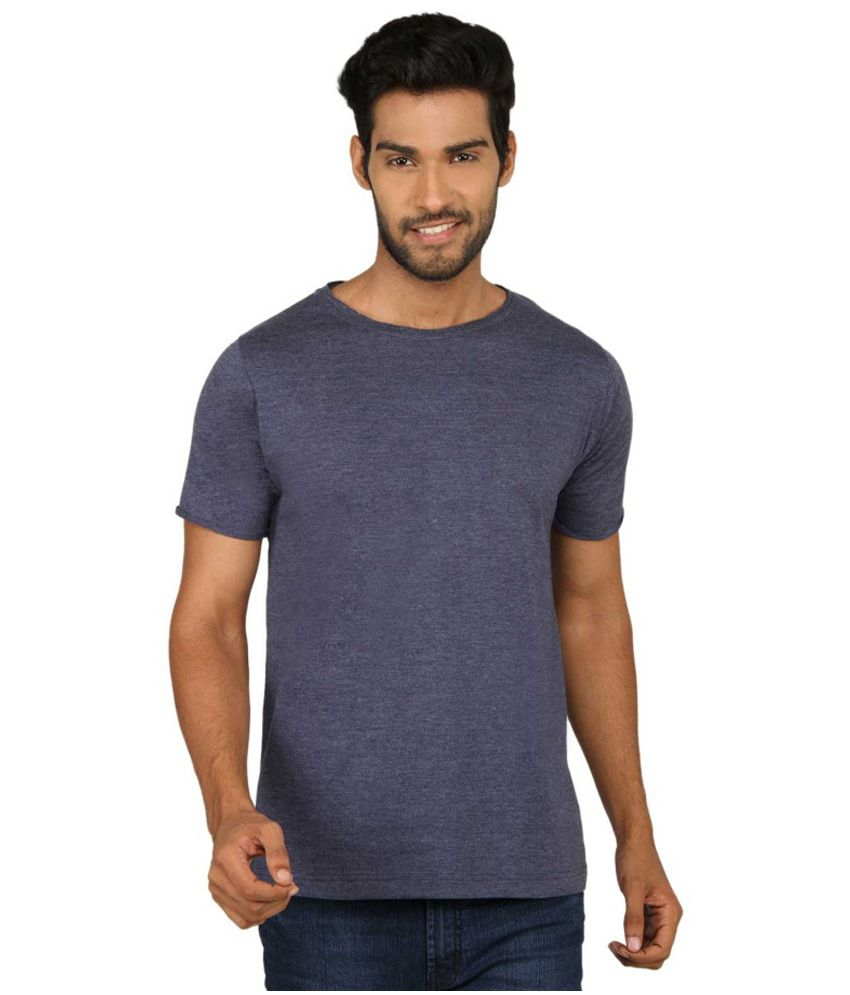 Sayitloud Blue Cotton T - Shirt