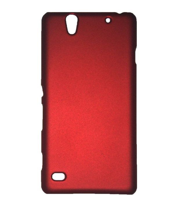 quality design cda76 6dd9c SFE Hard Back Case Cover Shell For Sony Xperia C4 - Red