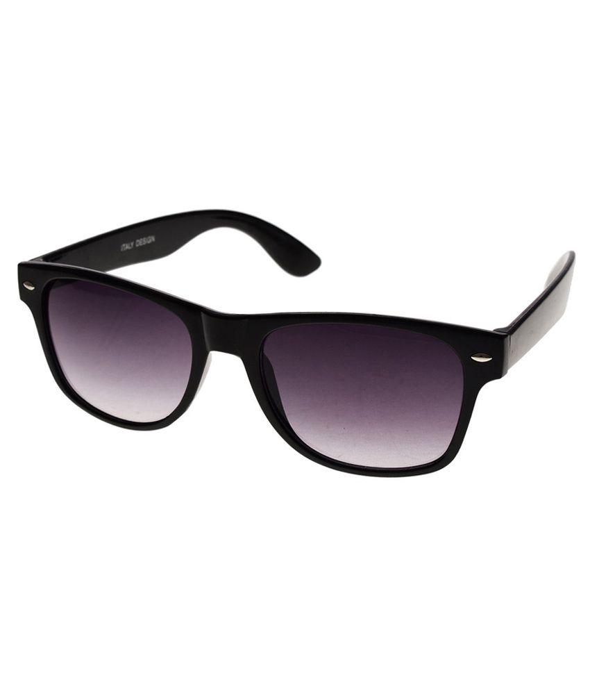 Af Rpb101 Non Metal Silver Frame Wayfarer Sunglasses - Buy ...