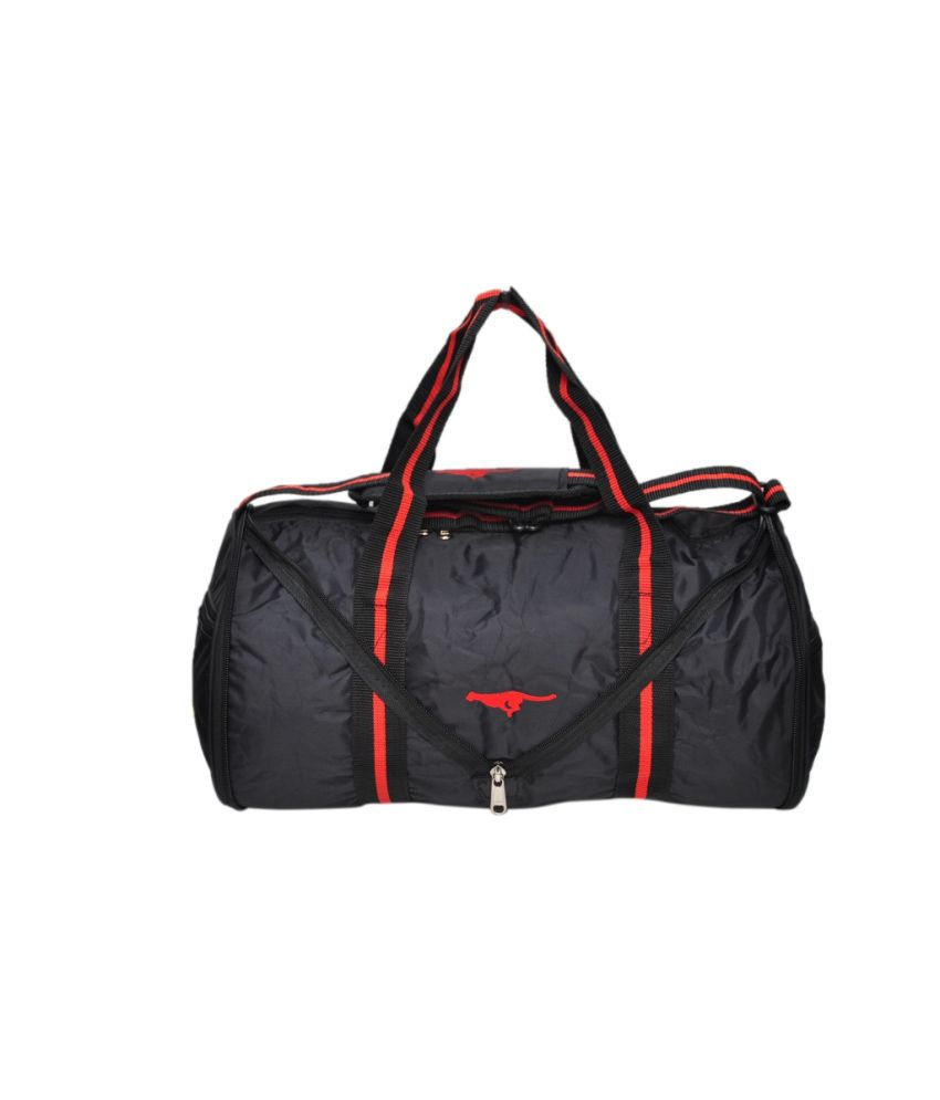 Gene Black gear Gym Bag