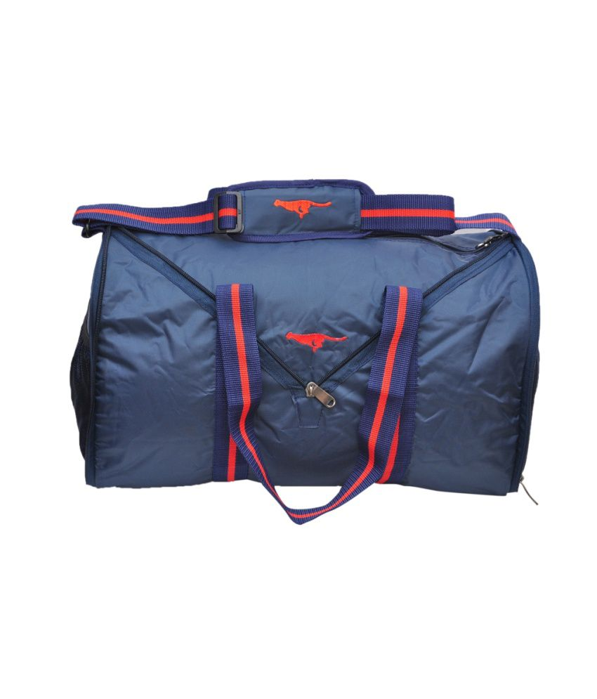 Gene Blue gear Gym Bag