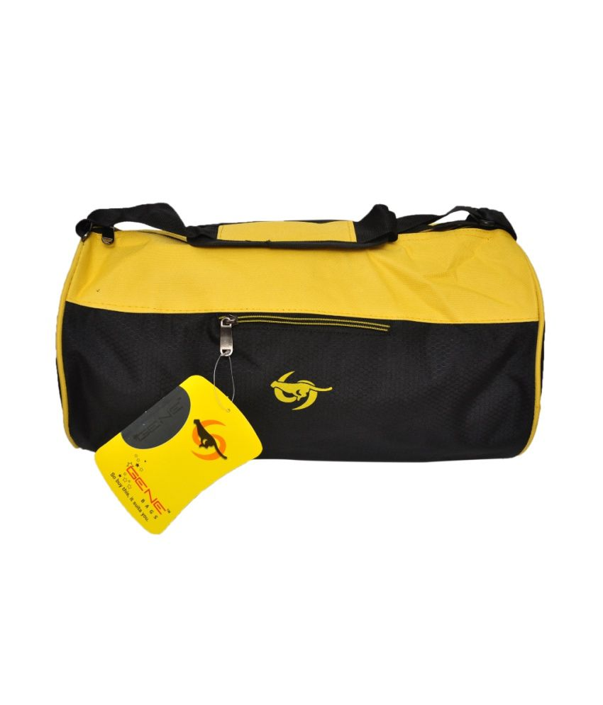 Gene Yellow gear Gym Bag