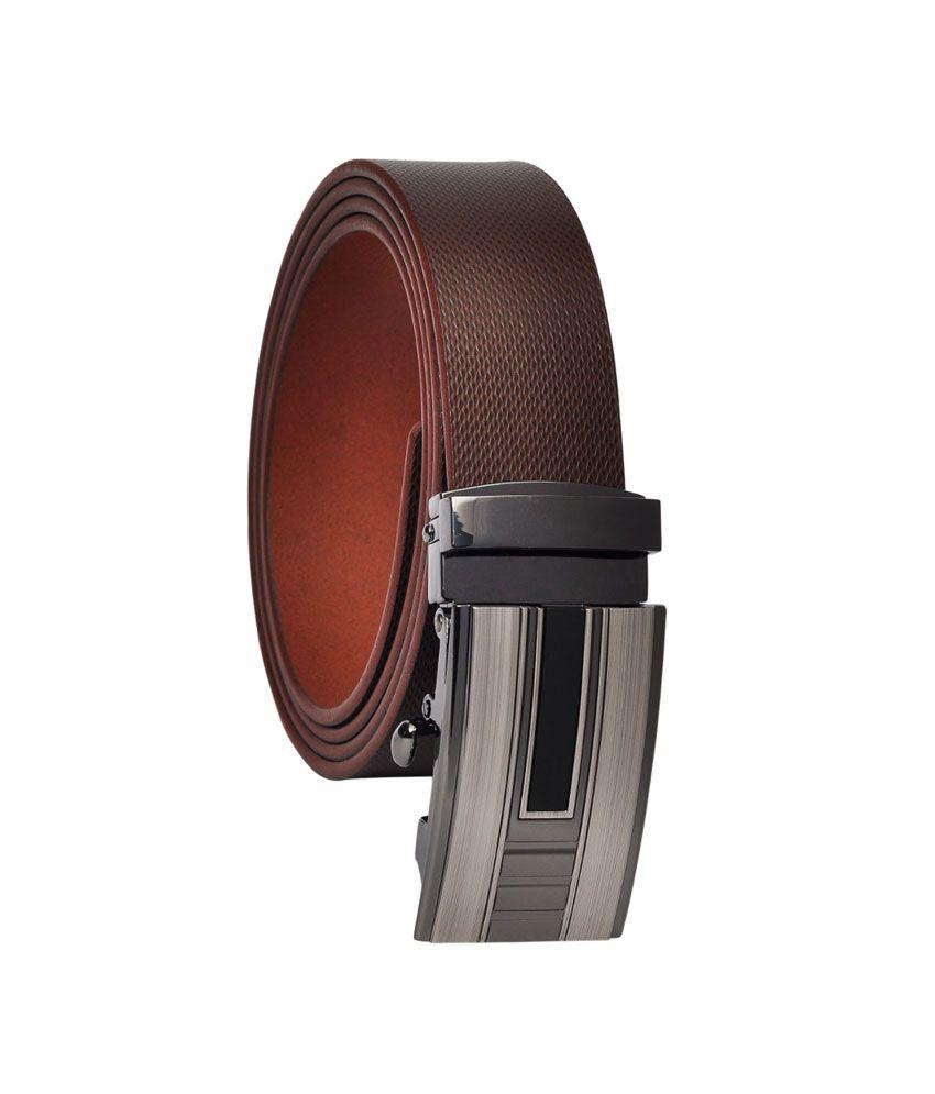 Hawai Brown Leather Belt