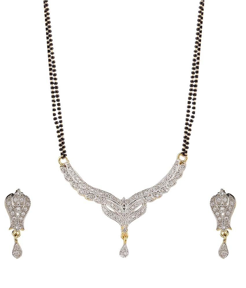 Kaira Black Traditional Mangalsutra Set