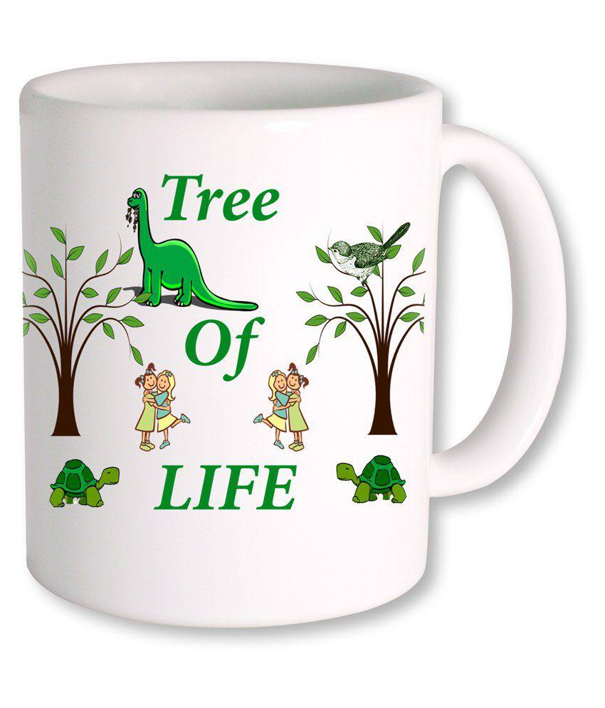tsIndia Motivational Quotes tree of life coffee mug
