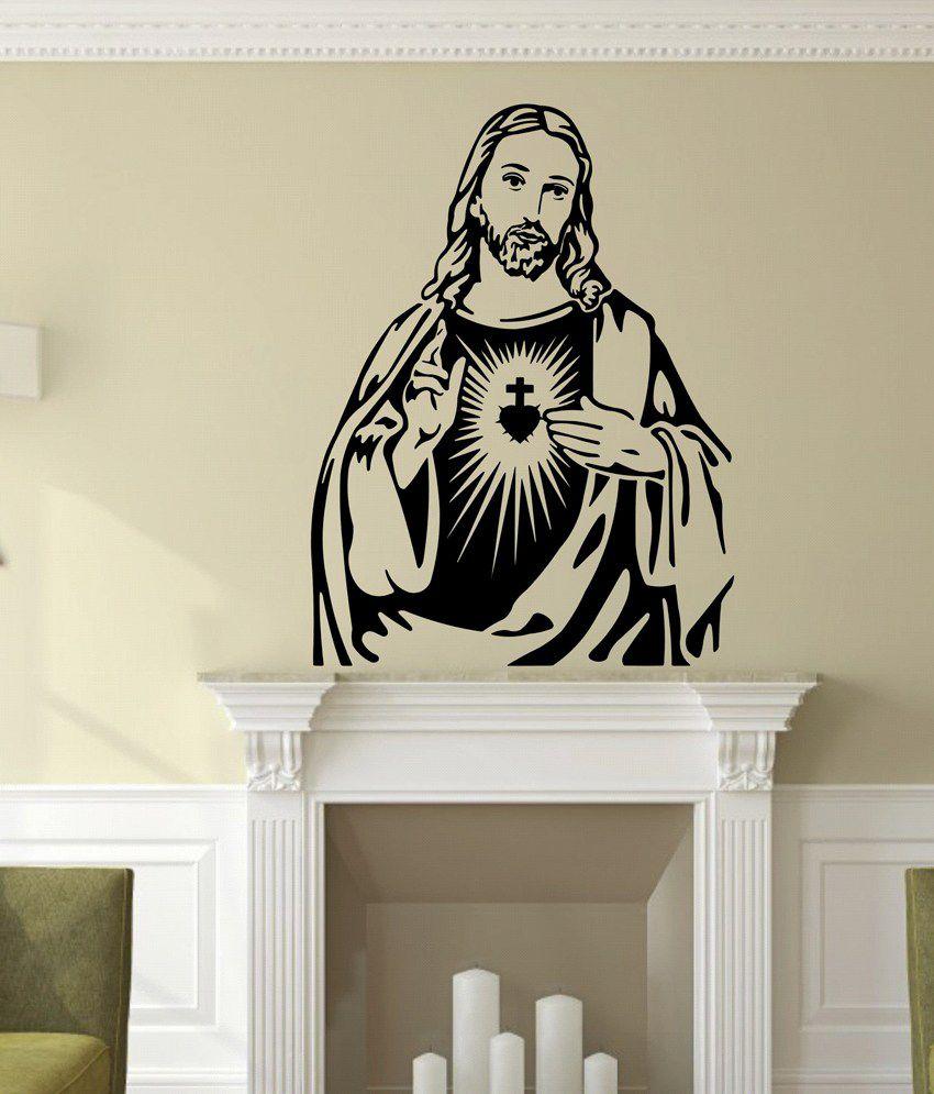 Veldeco Religious Amp Inspirational Vinyl Black Wall Sticker