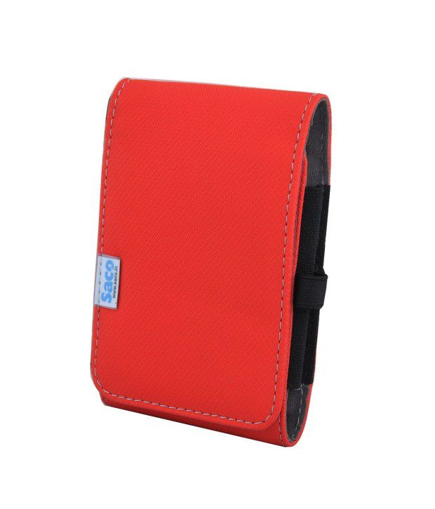 Saco Hard Disk Wallet For Seagate Expansion 1tb Portable External Hard Drive - Red