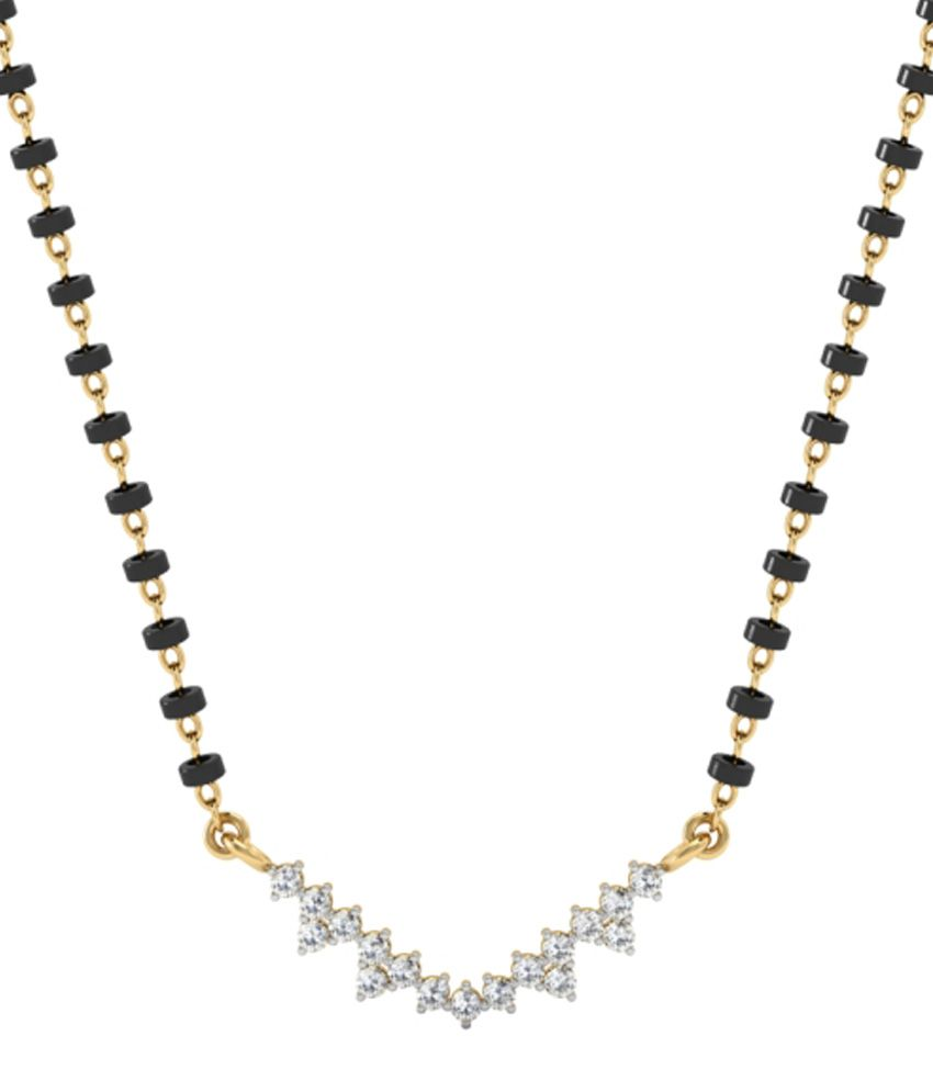 Vachya 14kt Gold Traditional Mangalsutra