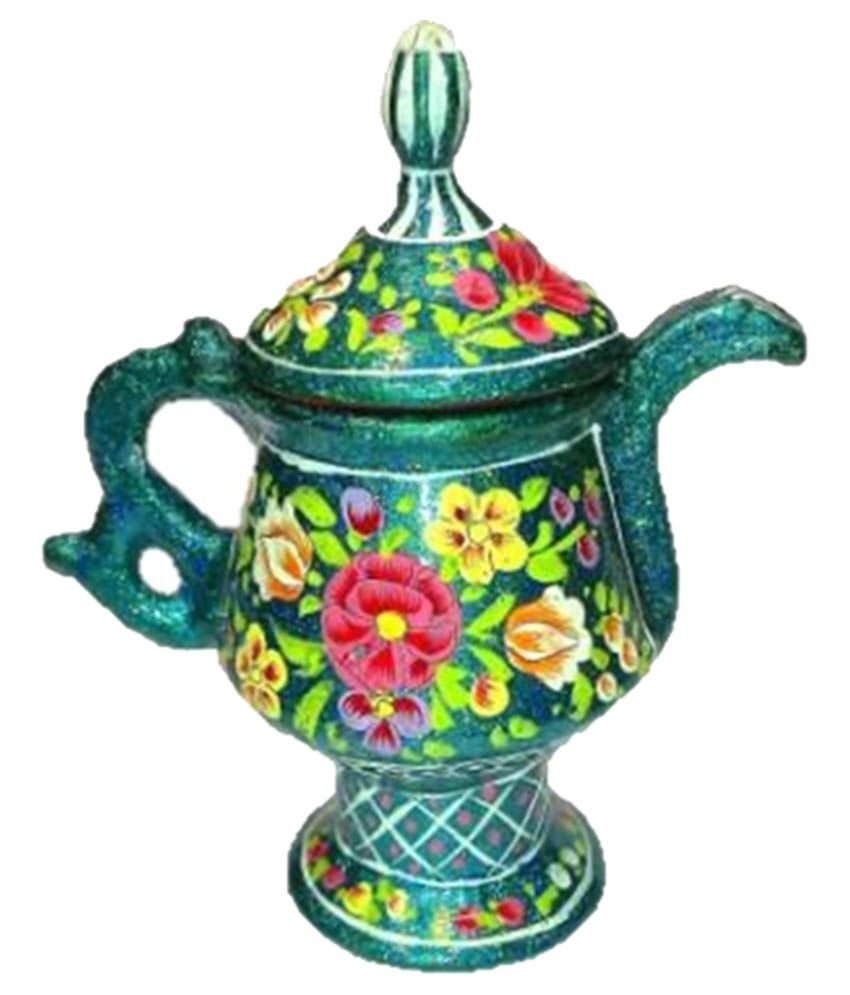 Kashmir Handicrafts Paper Mache Decoration Samawar Buy Kashmir
