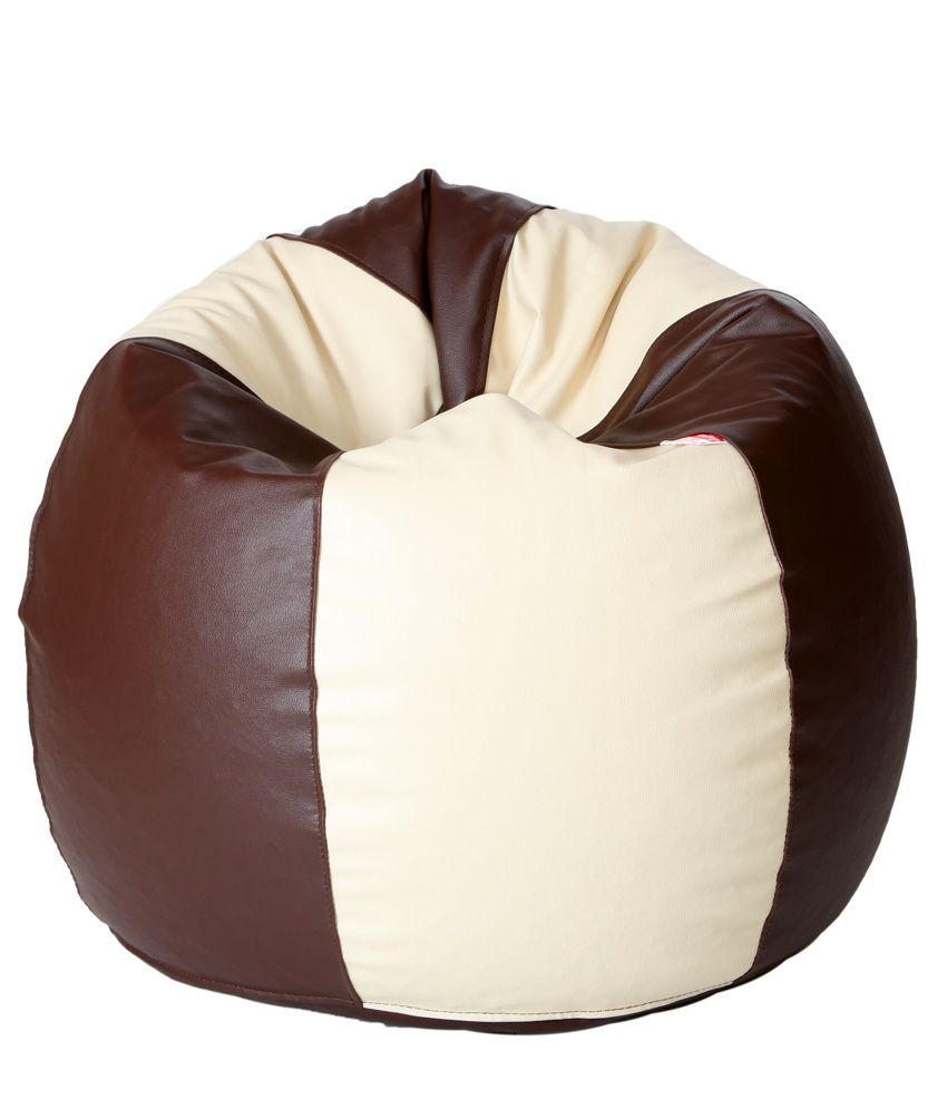 fun in xxl bean bag beans in brown price at flipkart snapdeal ebay amazon fun in xxl bean. Black Bedroom Furniture Sets. Home Design Ideas