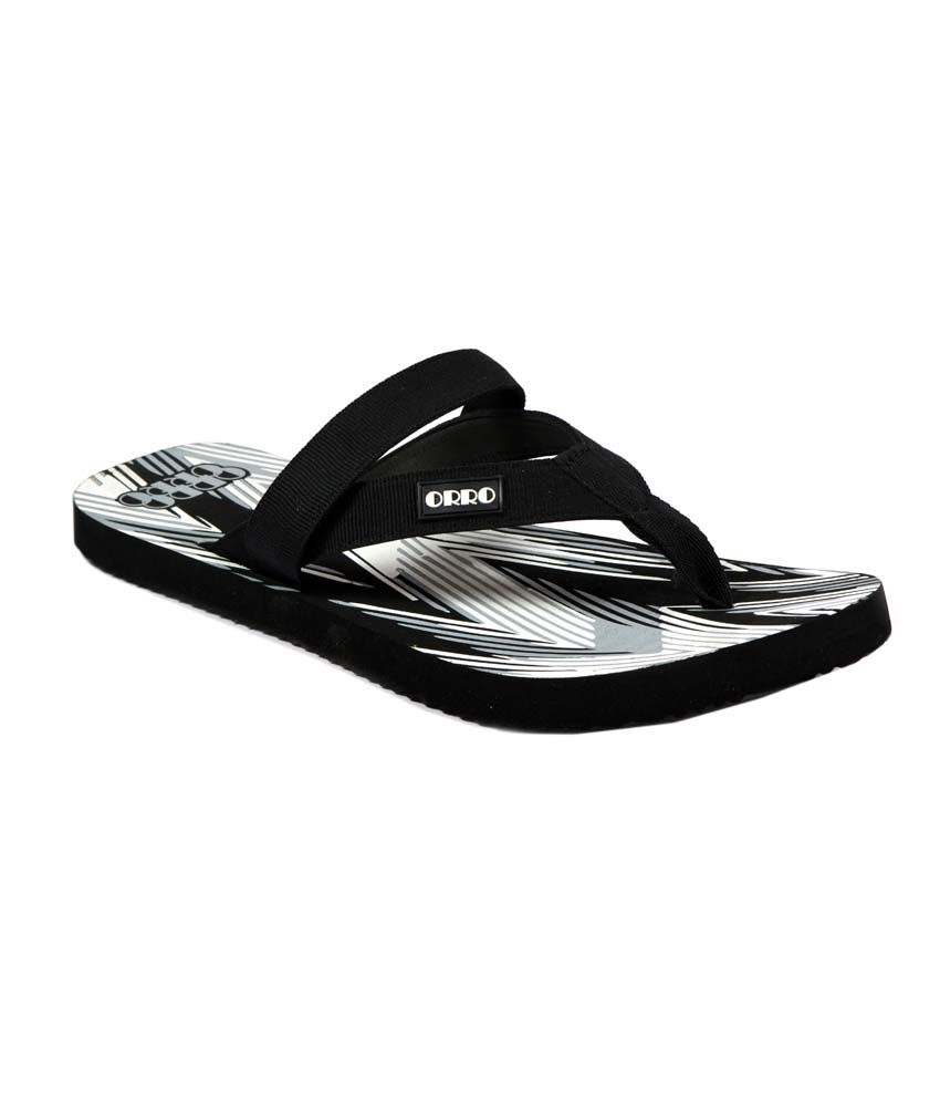 80543a1f8d2 Orro White Casual Men Flip-flops Price in India- Buy Orro White Casual Men  Flip-flops Online at Snapdeal