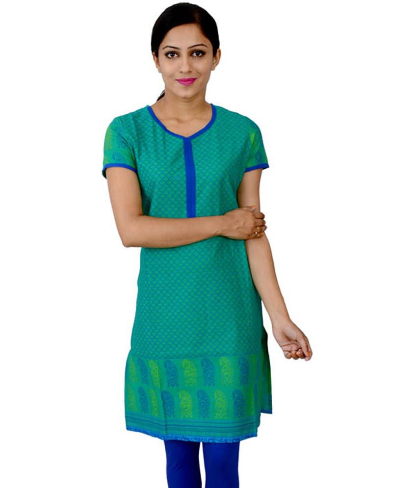 Easy clean Multi Cotton Kurti