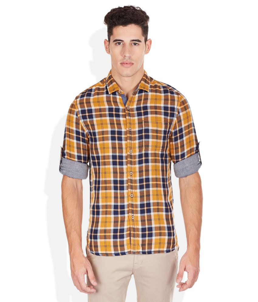 Bossini multicoloured plaid shirt buy bossini for Buy plaid shirts online
