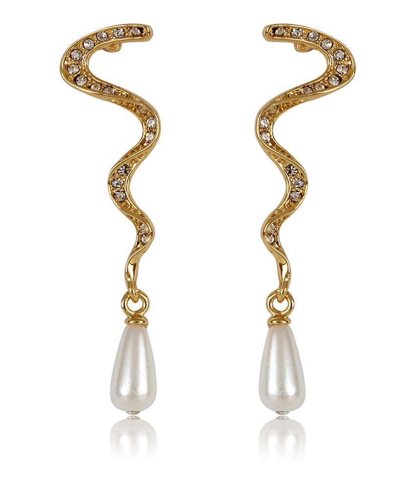 Estelle Golden Alloy Antique Crystal Hangings