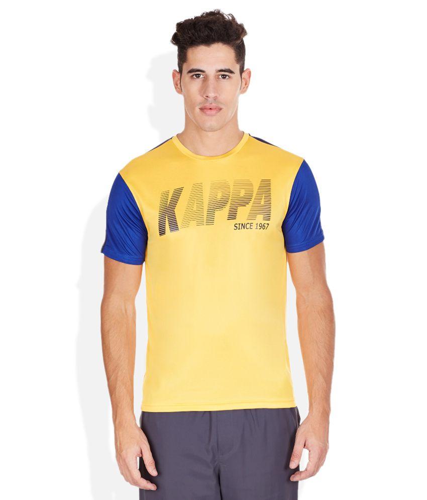 Kappa Yellow Polo T-Shirt