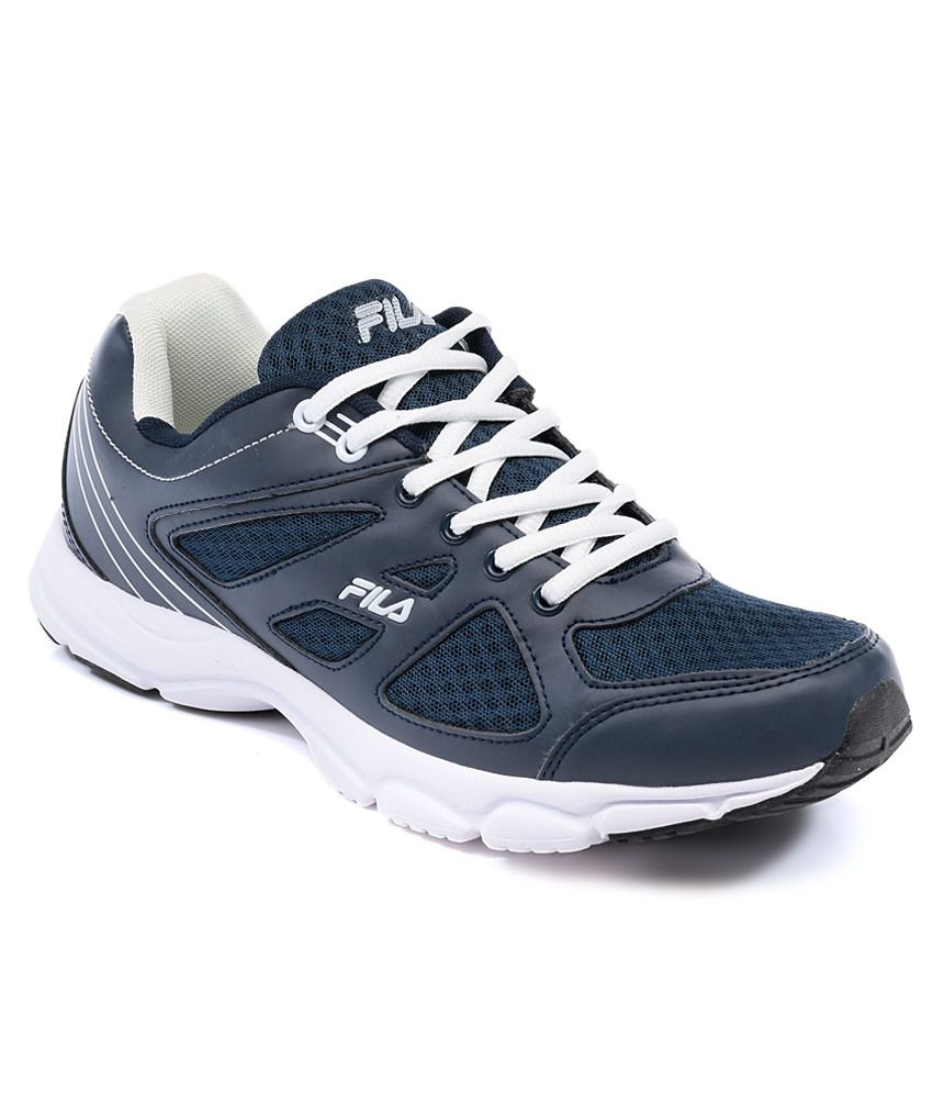 0e992ece98a9 Fila Super Runner Navy   White Sports Shoes - Buy Fila Super Runner Navy    White Sports Shoes Online at Best Prices in India on Snapdeal