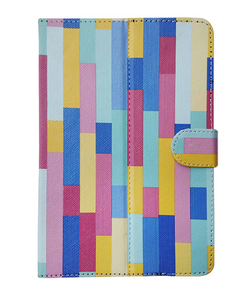 Fastway Flip Cover For Lenovo Tab 2 A7-10 - Multicolor