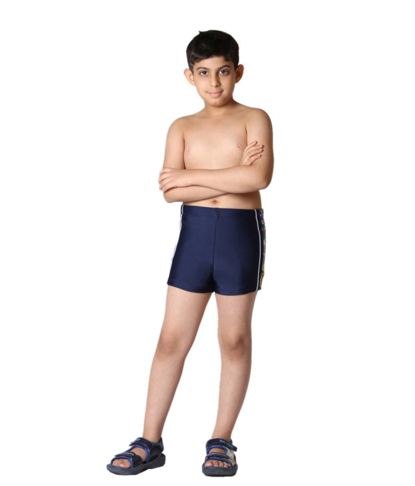 Indraprastha Navy Blue Boys Swimming Trunks and Costume/ Swimming Costume