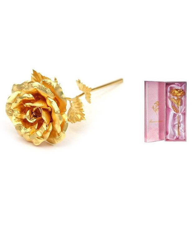Jewel Fuel 24k Gold Rose With Exclusive Gift Box