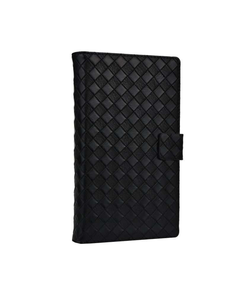 Jo Jo Synthetic Pouch Flip cover For Huawei Ascend P2 Black
