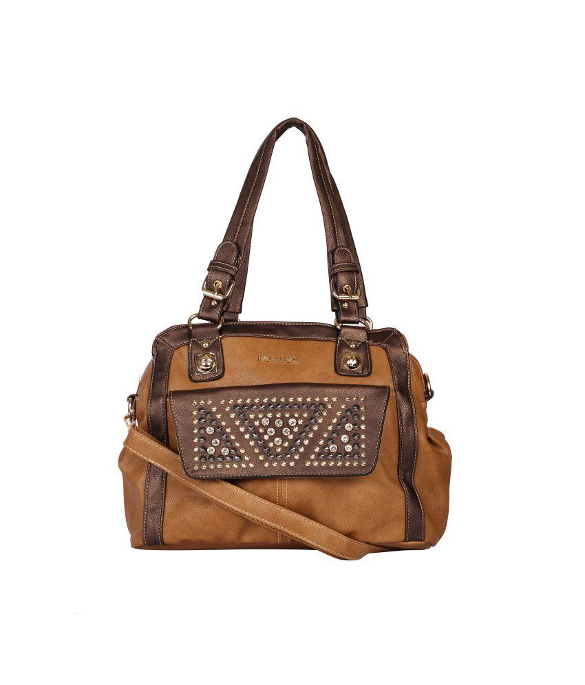 Kiara Brown Shoulder Bag