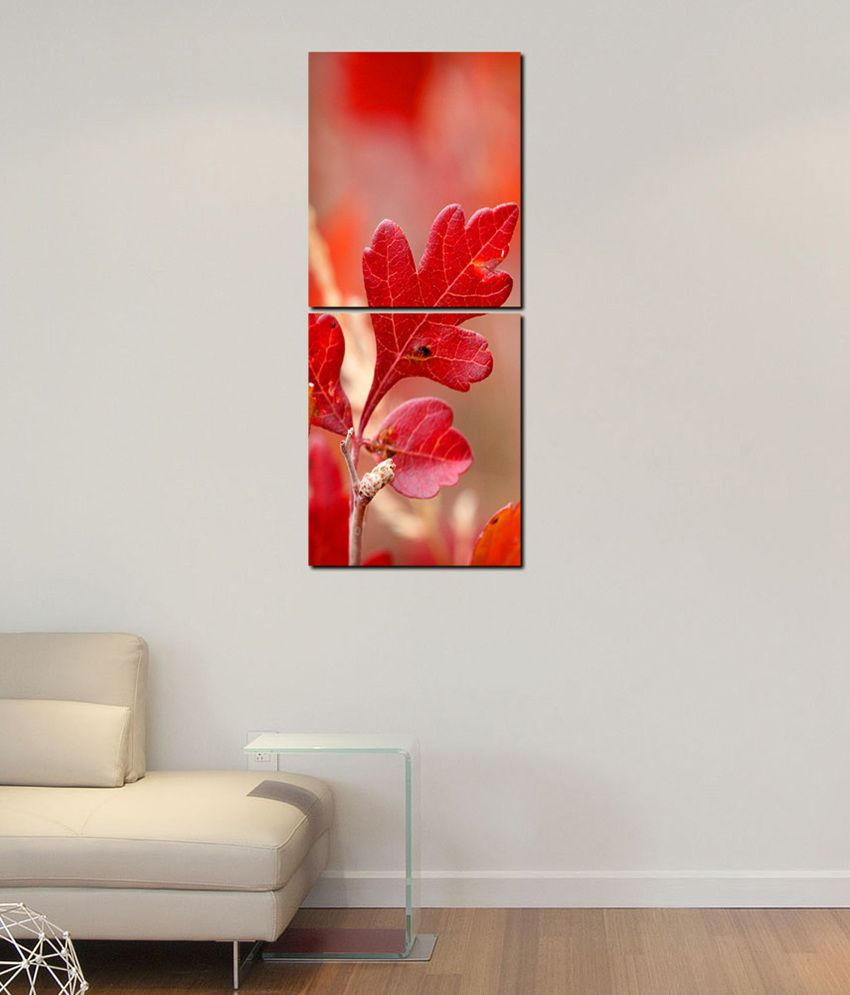 999Store Glossy Paintings With Frame Set of 2