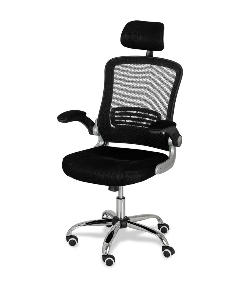 Royaloak Berry Office Chair With Black Upholstery - Buy ...