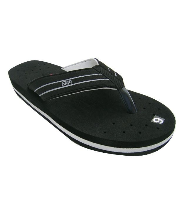 ERA Black Slippers