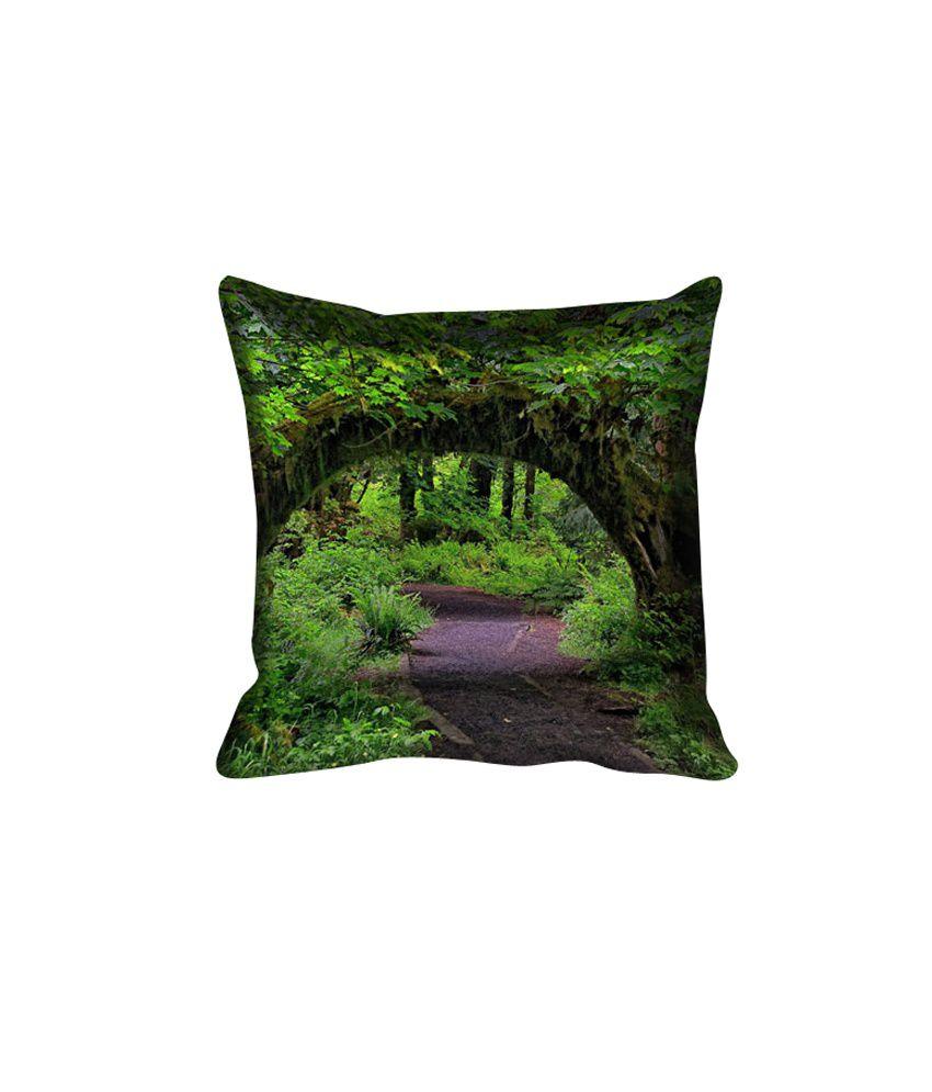 MeSleep Nature Digitally Printed Cushion Cover - Pack of 5