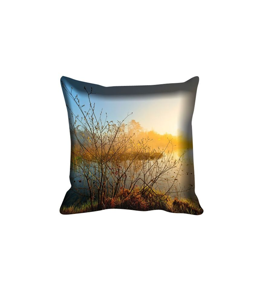 MeSleep Nature Digitally Printed Cushion Cover - Pack of 5