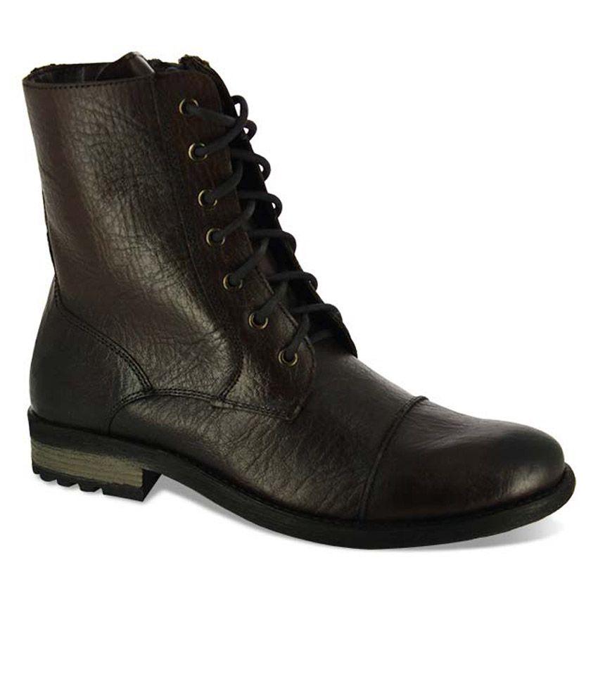 Alberto Torresi Brown Boots