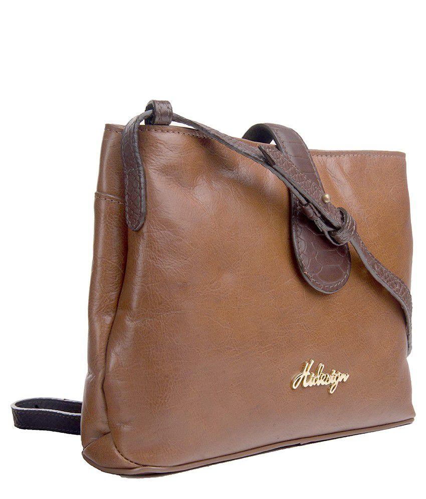 Hidesign Tan Sling Bags