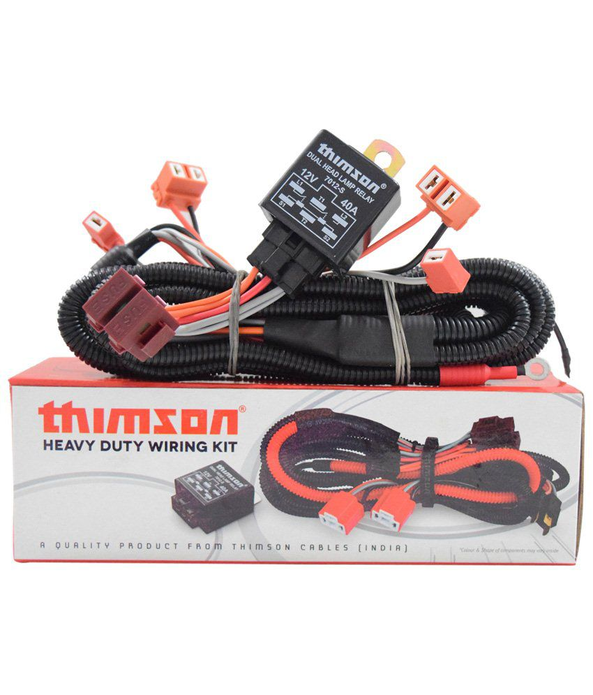 Thimson H7h1 Headlamp Wiring Kit Buy Harness Careers India