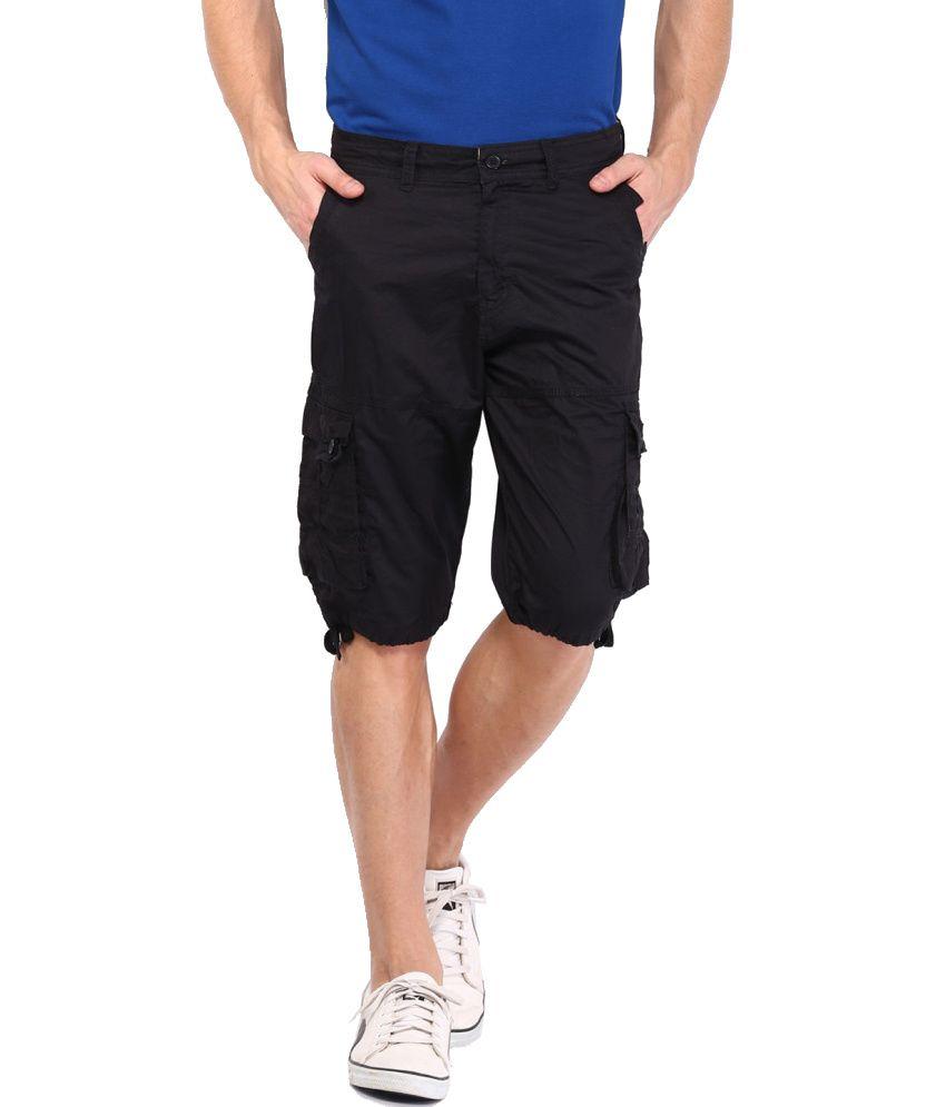 Sports 52 Wear Navy Cotton Blend 3/4ths