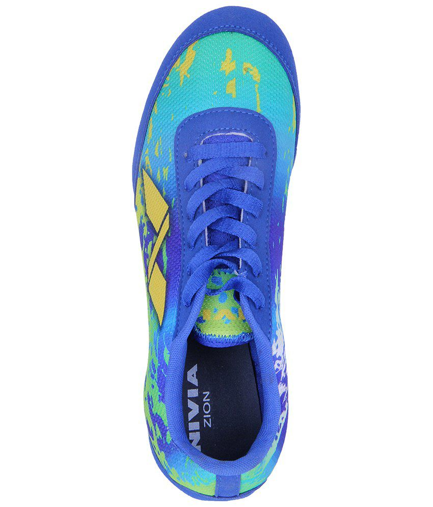 ... Nivia Blue Zion 1 Spike Shoes for Men ...