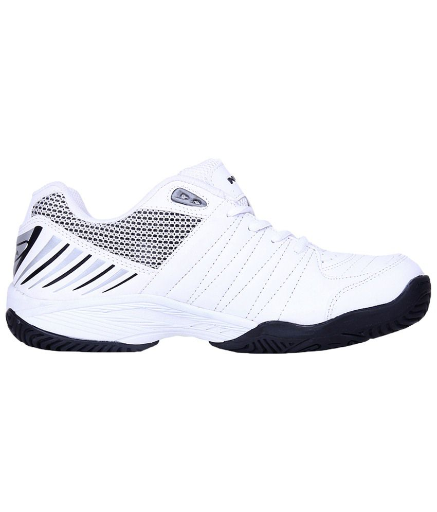 Nivia White Rapid Tennis Shoes for Men - Buy Nivia White Rapid ...