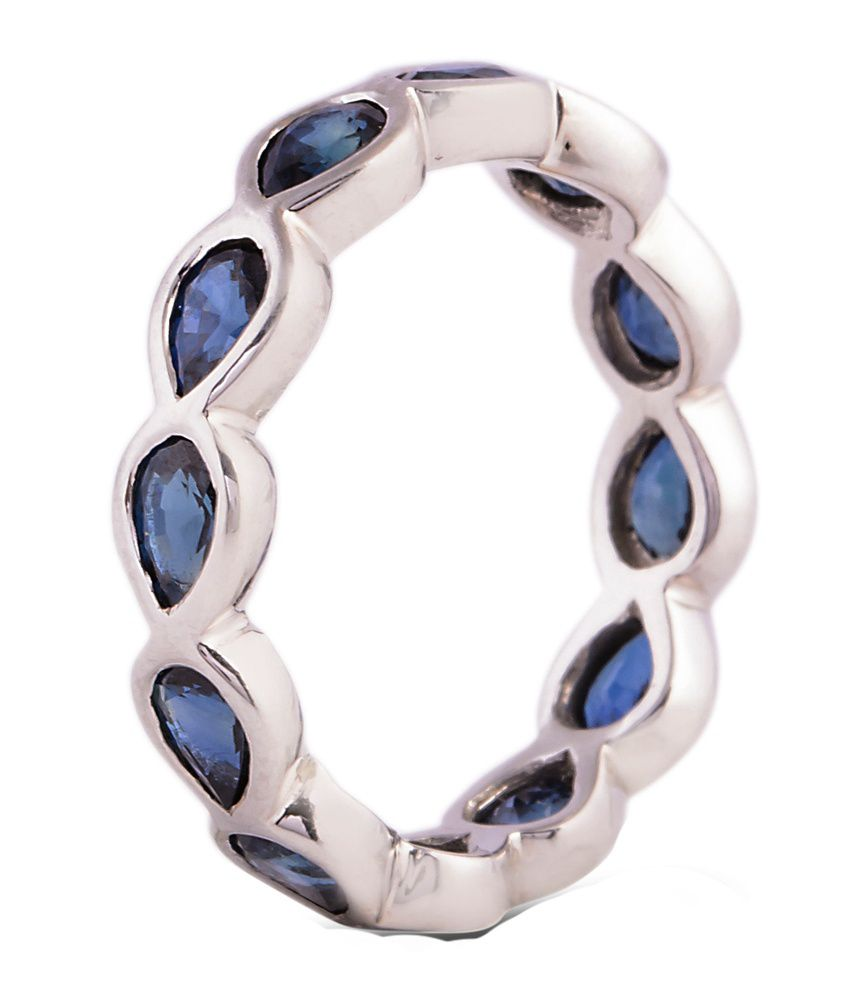 Rakam 18kt Gold Ring With Sapphire Stone