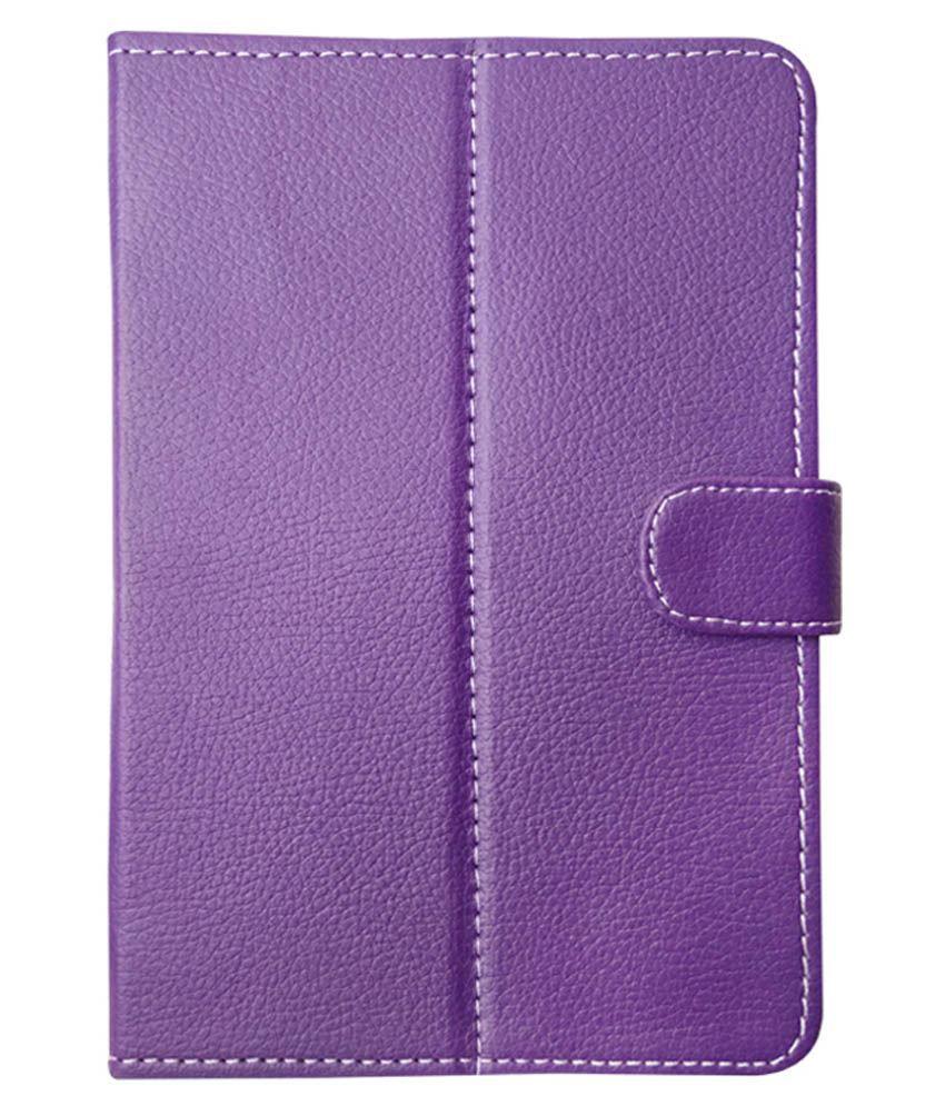 Fastway Flip Cover For Samsung Galaxy Tab 4 7.0 LTE - Purple