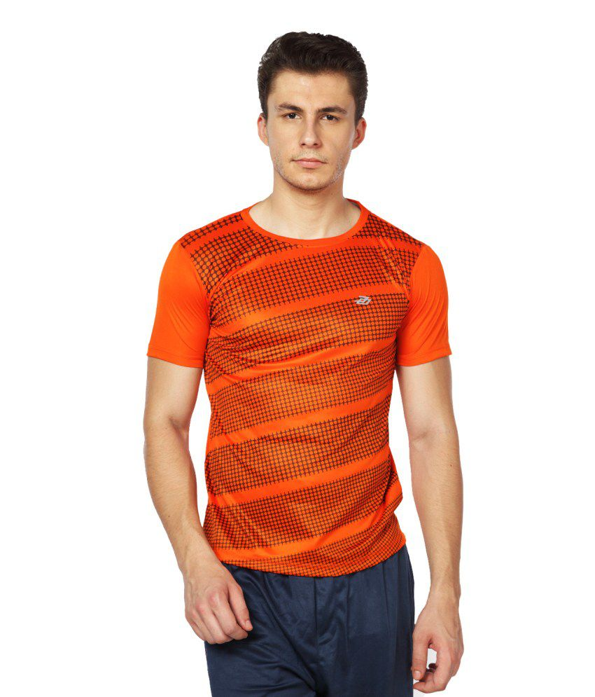 Difference Of Opinion Orange Polyester T Shirt