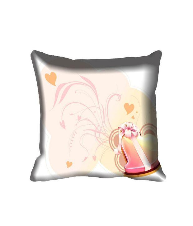 Mesleep Love Digital Printed Cushion Cover -Set of 4