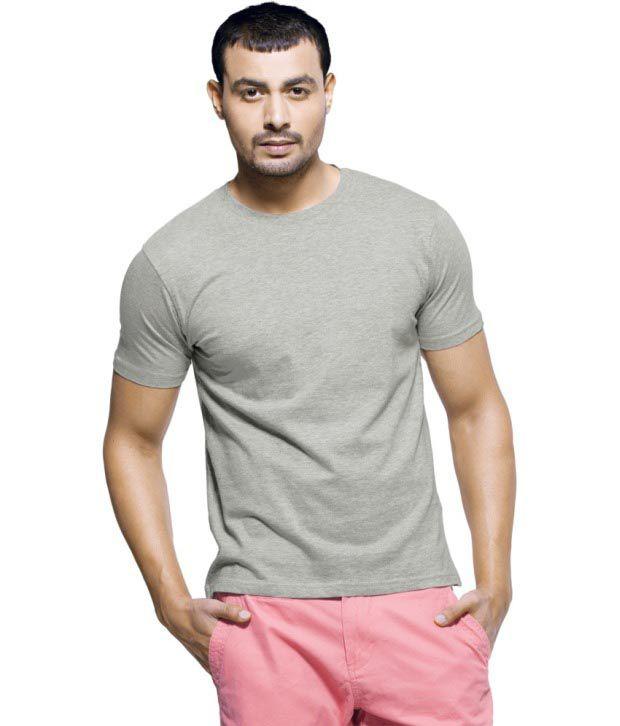 Aloysius Gray Cotton T Shirt