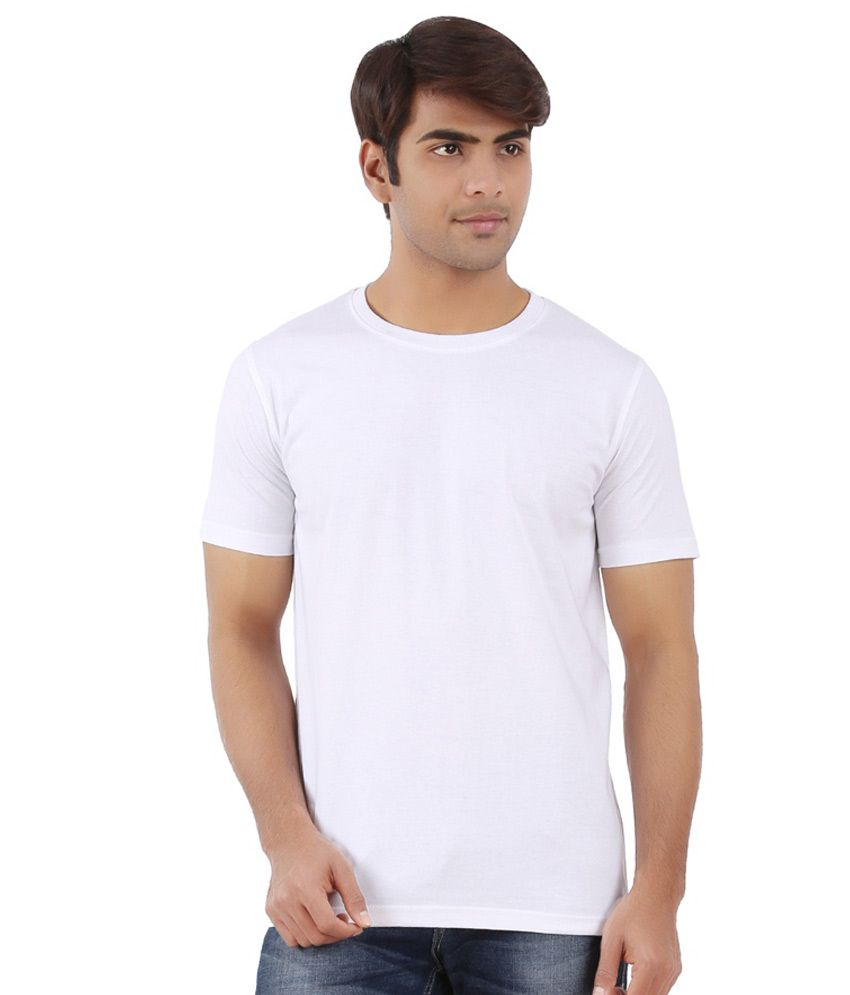 Customade Maroon Cotton T-shirt