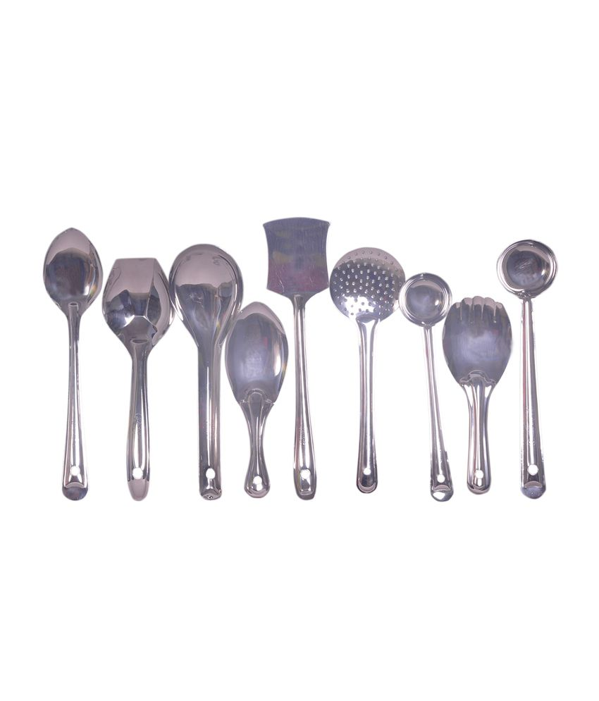 dynore kitchen serving tools set of 9 snapdeal price kitchen tools deals at snapdeal dynore. Black Bedroom Furniture Sets. Home Design Ideas