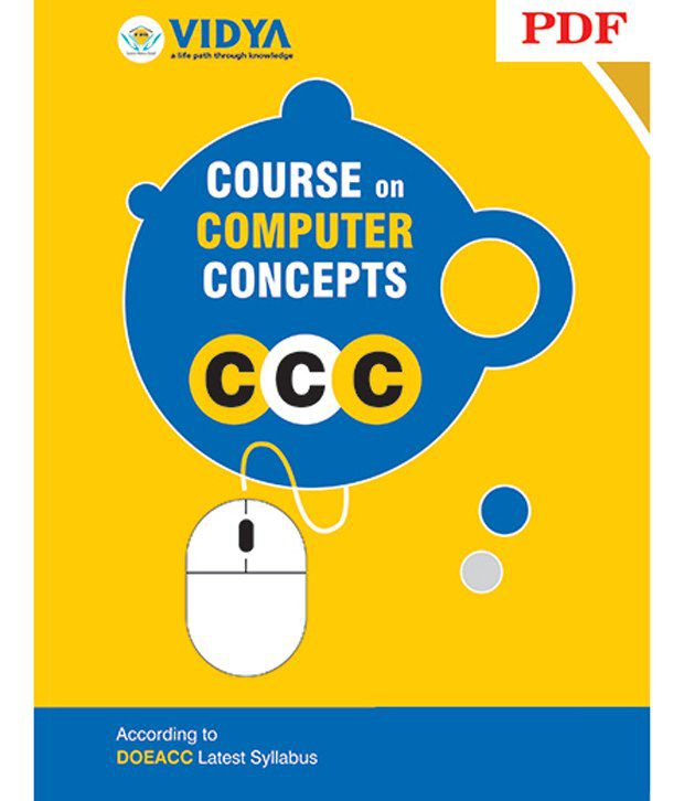 CCC Course On Computer Concepts PDF by Vidya Prakashan Downloadable Content