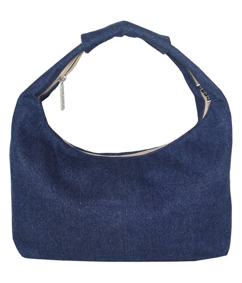 YOLO Blue Shoulder Bag