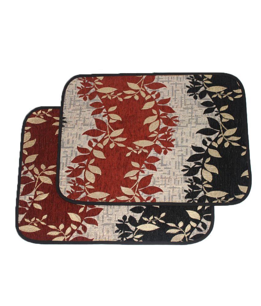 Home Gallery Floral Floormat (Buy One Get One)